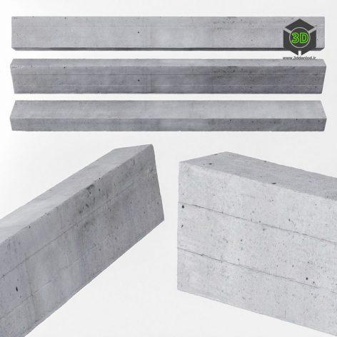 Beam Concrete Ceiling(3ddanlod.ir) 810