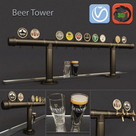 Big Beer Tower(3ddanlod.ir) 776
