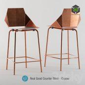 Blu Dot Real Good Copper Stool(3ddanlod.ir) 355