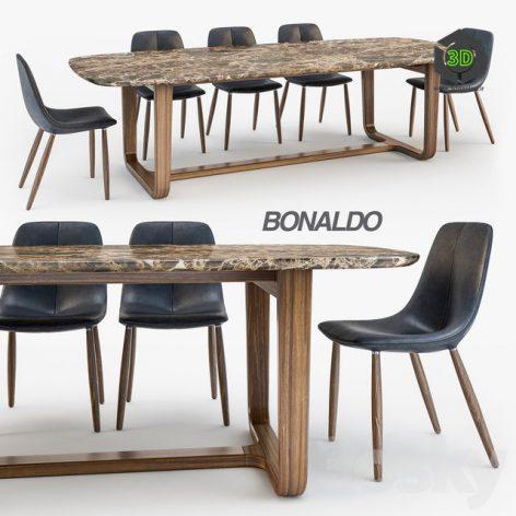 Bonaldo By Chair Medley Table(3ddanlod.ir) 274