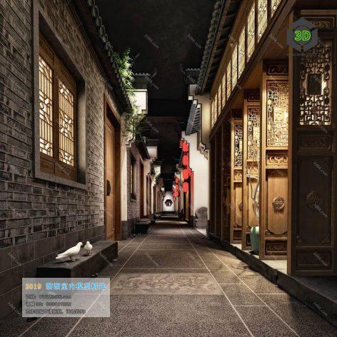 C019-中式风格-Chinese style (3ddanlod.ir)