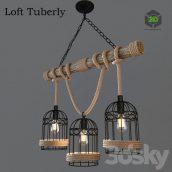 Ceiling Chandelier Loft Tuberly(3ddanlod.ir) 432