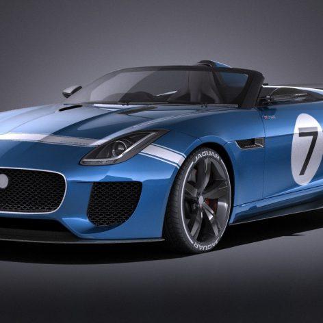 Jaguar Project 7 Concept 2016 - Vray - 3D Model 075 (3ddanlod.ir)