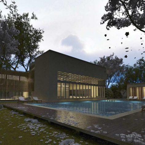 Modern Villa Exterior(3ddanlod.ir)
