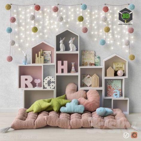 Toys and Furniture Set 41(3ddanlod.ir)570