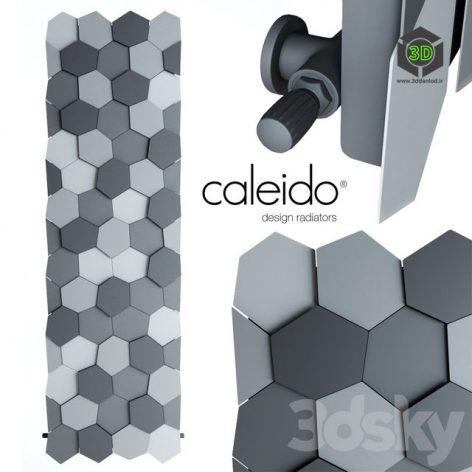 Wall Radiator Caleido HONEY(3ddanlod.ir)129