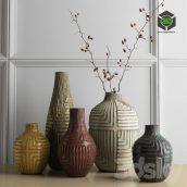 West Elm Linework Vases(3ddanlod.ir)451