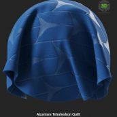 alcantara_tetrahedron_quilt (3ddanlod.ir)