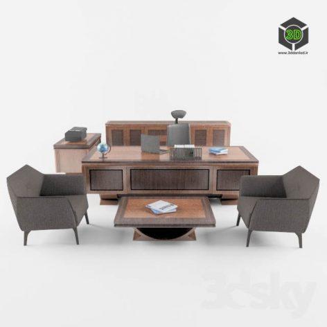 office set (3ddanlod.ir)