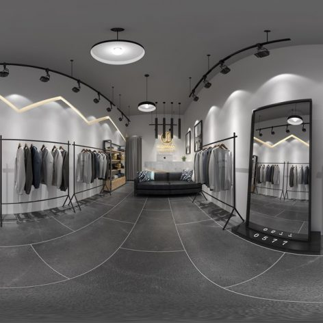 360 Interior Design 2019 Clothing Store I148 panorama (3ddanlod.ir) 006