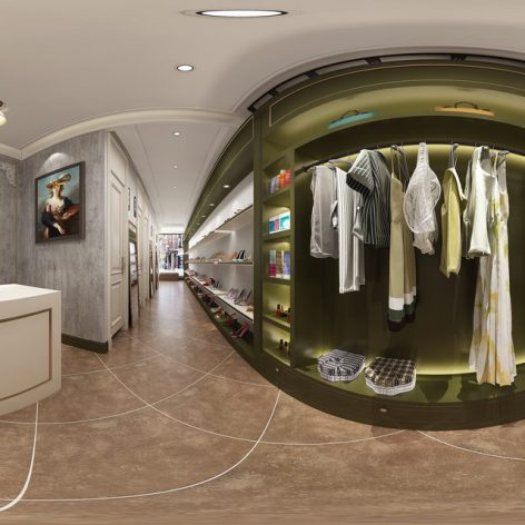 360 Interior Design 2019 Clothing Store I34 panorama (3ddanlod.ir) 003