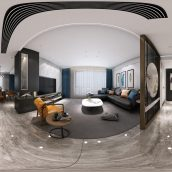 360 Interior Design 2019 Dining Room A04 panorama (3ddanlod.ir) 003