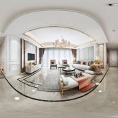 360 Interior Design 2019 Dining Room B01 panorama (3ddanlod.ir) 008