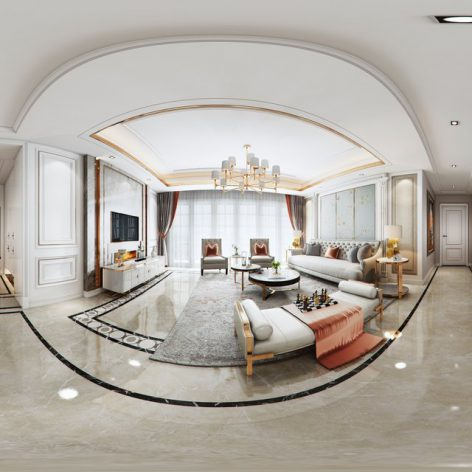 360 Interior Design 2019 Dining Room B01 panorama (3ddanlod.ir) 008