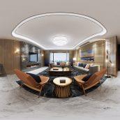 360 Interior Design 2019 Dining Room C01 panorama (3ddanlod.ir) 018