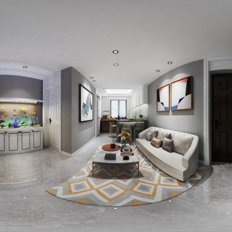 360 Interior Design 2019 Dining Room C02 panorama (3ddanlod.ir) 019