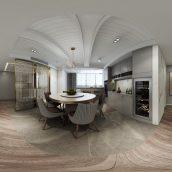 360 Interior Design 2019 Kitchen Room I171 panorama (3ddanlod.ir) 017