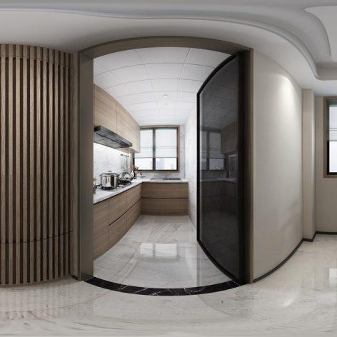 360 Interior Design 2019 Kitchen Room I54 panorama (3ddanlod.ir) 010