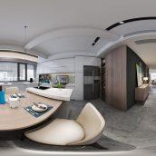 360 Interior Design 2019 Kitchen Room I63 panorama (3ddanlod.ir) 011