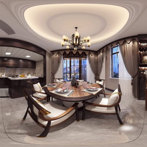 360 Interior Design 2019 Kitchen Room I77 panorama (3ddanlod.ir) 012