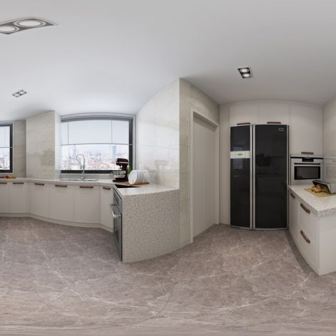 360 Interior Design 2019 Kitchen Room I85 panorama (3ddanlod.ir) 013