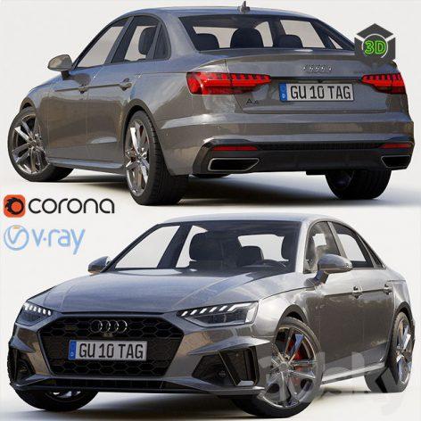 Audi A4 Sedan S Line 2020(3ddanlod.ir) 332 (3ddanlod.ir)