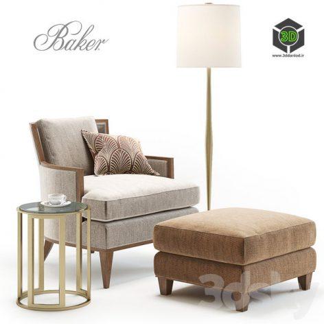 Baker California Lounge Chair(3ddanlod.ir) 209 (3ddanlod.ir)