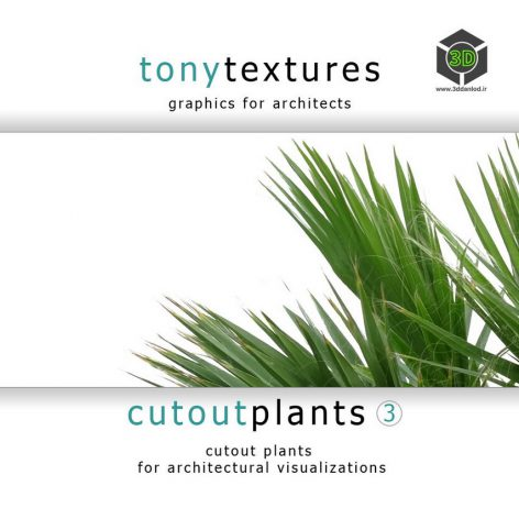 CutoutPlantsV03_CD-Label (3ddanlod.ir)