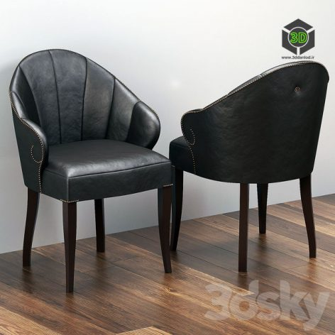Design Chairs With Shaped Armrests and Cloves S07(3ddanlod.ir) 187