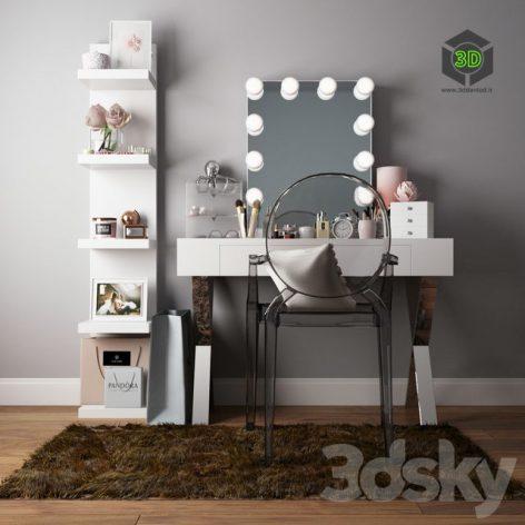 Dressing Table I Dressing Table(3ddanlod.ir) 551