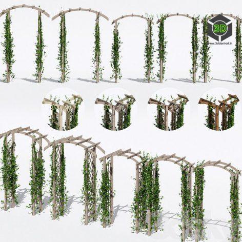Garden Arches Two(3ddanlod.ir) 564
