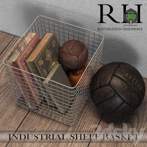 INDUSTRIAL SHELF BASKET(3ddanlod.ir) 228