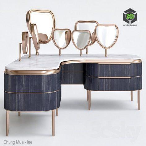 Kara Dressing Table By Natevo(3ddanlod.ir) 793