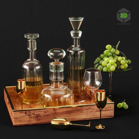 Kitchen Decorative Set 042(3ddanlod.ir) 862