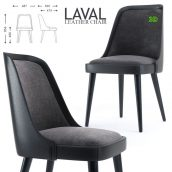 LAVAL LEATHER CHAIR(3ddanlod.ir) 952