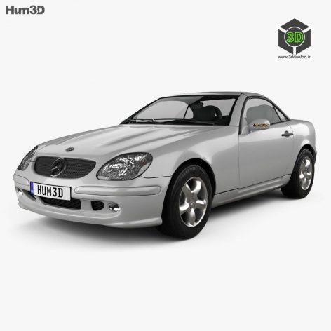 Mercedes Benz SLK Class - 3D Model 003 (3ddanlod.ir) (2)