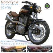 Motorcycle(3ddanlod.ir) 886