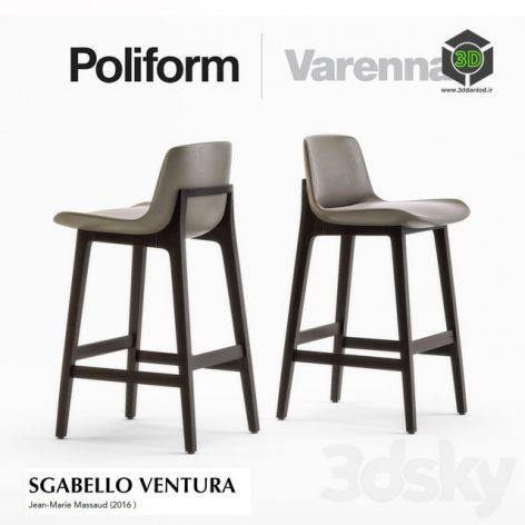POLIFORM SGABELLO VENTURA(3ddanlod.ir) 219