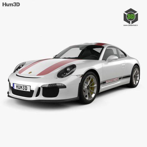 Porsche 911 R 2017 - 3D Model 193 (3ddanlod.ir)