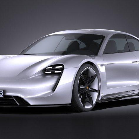 Porsche Mission E Concept 2015 - Vray - 3D Model 074 (3ddanlod.ir)