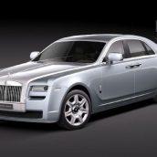 Rolls-Royce GHOST - Vray - 3D Model 197 (3ddanlod.ir)