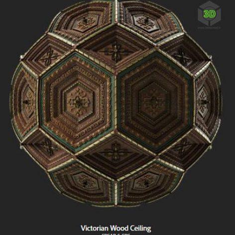 victorian_wood_ceiling (3ddanlod.ir)