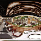 360 Interior Design 2019 Restaurant F22 panorama (3ddanlod.ir) 015