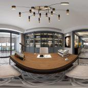 360 Interior Design 2019 Study Room I26 panorama (3ddanlod.ir) 009