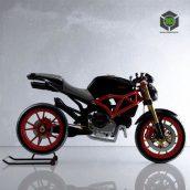 Ducati Monster 869 001 (3ddanlod.ir)