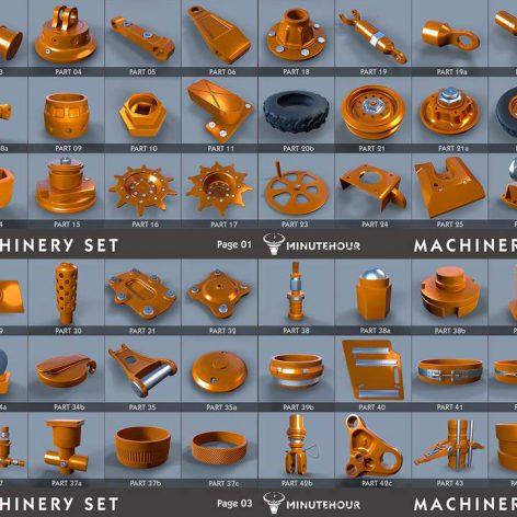 Gumroad – Machinery Set – kitbash – Full Pack (3ddanlod.ir)