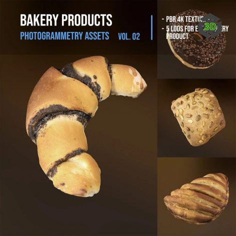 Gumroad - Bakery products pack_001 COVER (3ddanlod.ir)