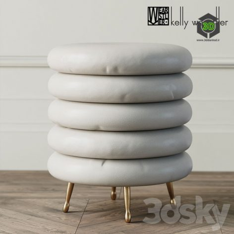LAUREL STOOL by Kelly Wearstler(3ddanlod.ir) 168 (3ddanlod.ir)