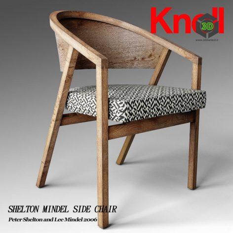 Shelton Mindel Side Chair(3ddanlod.ir) 1078