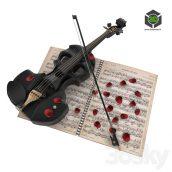 Skull Violin(3ddanlod.ir) 070 (3ddanlod.ir)